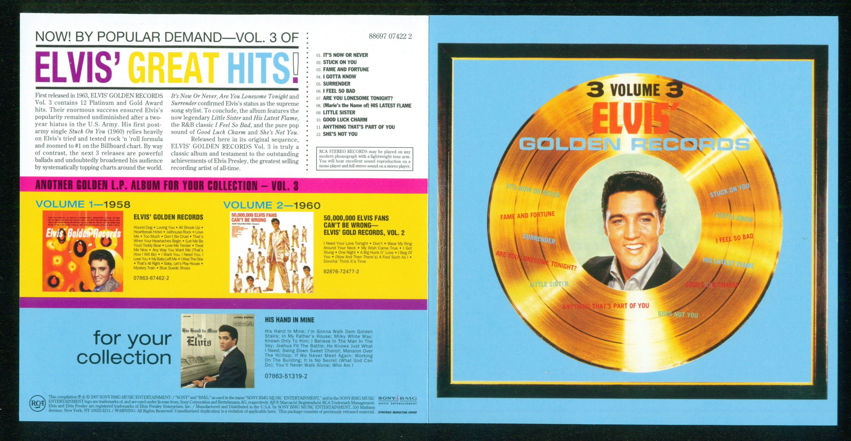 Image result for elvis golden records 3